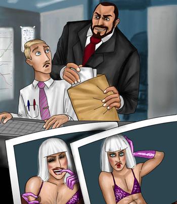 trans cartoons