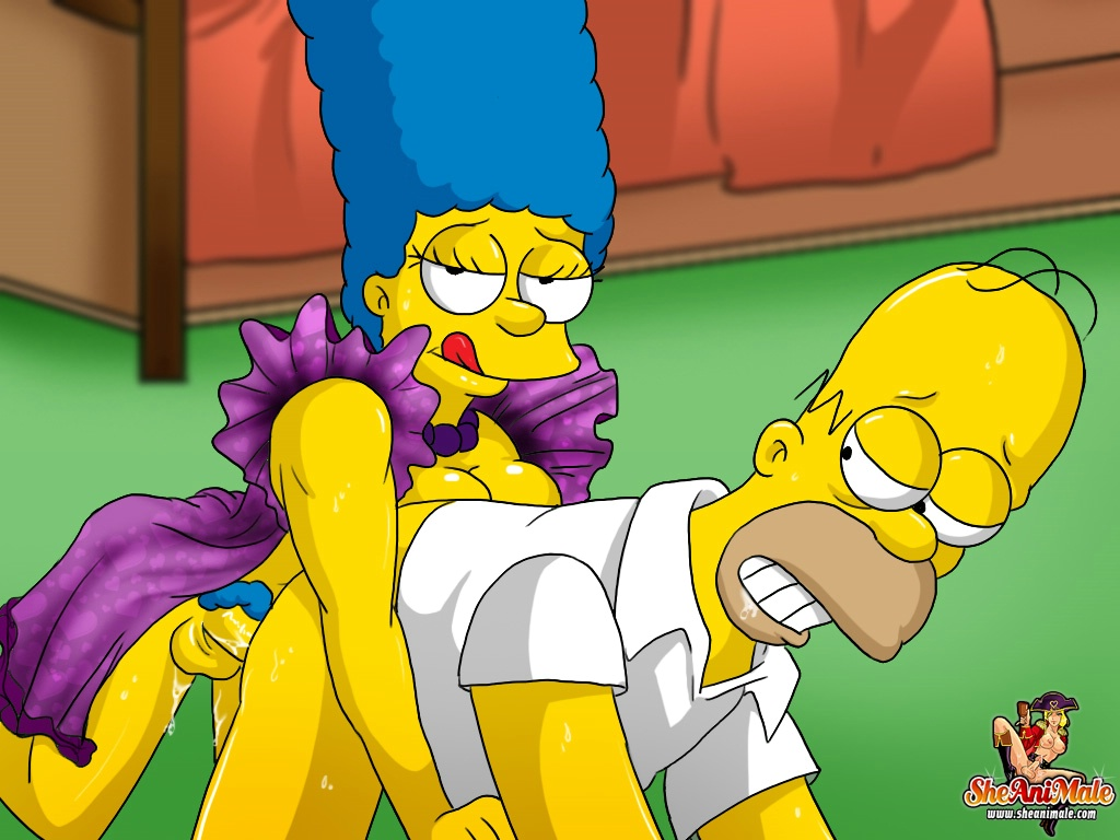 The Simpsons Marge Simpson Does Anal