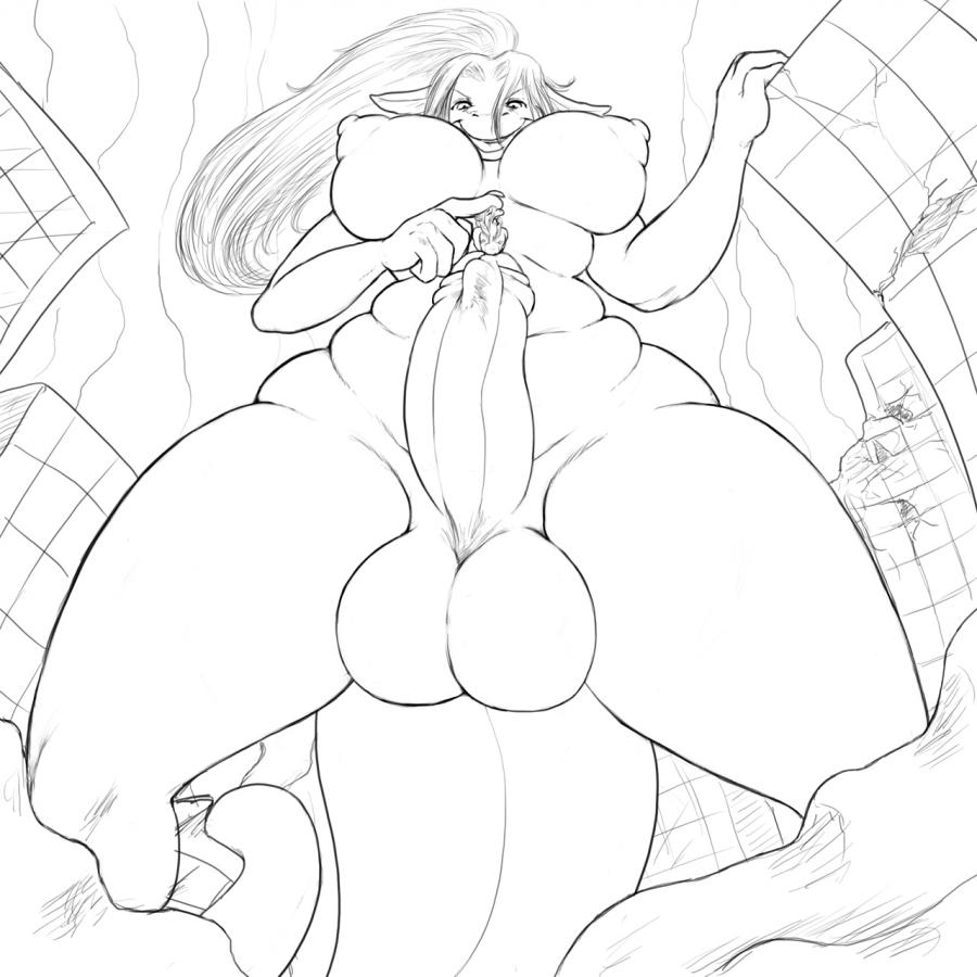 futanari giantess story